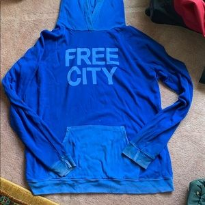 Free city hoodie size large